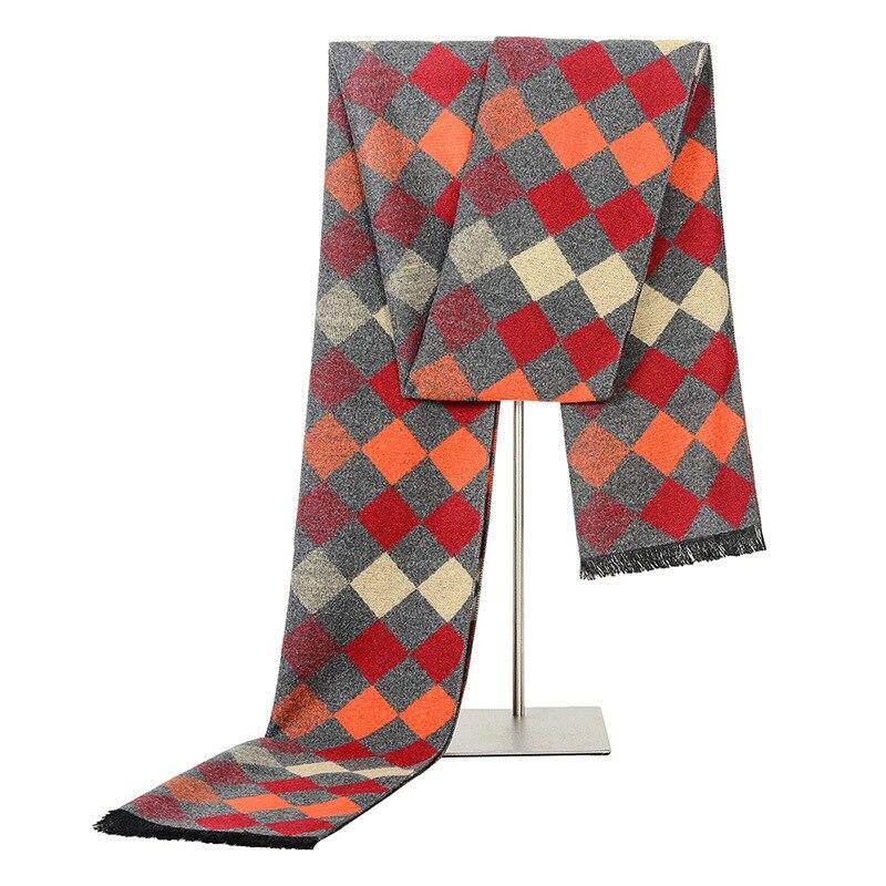 2018 Scarf New Style Korean-style MEN'S Scarf Autumn And Winter Woven Nap Fashion Scarf Plaid Men Scarf Wholesale