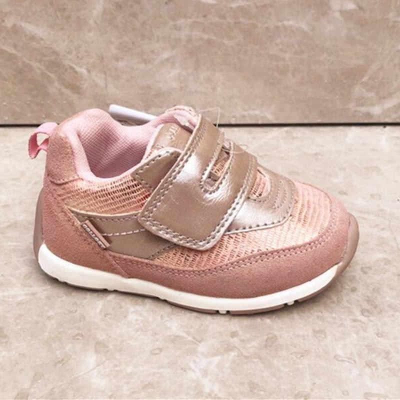 girls children's sports shoes anti fur