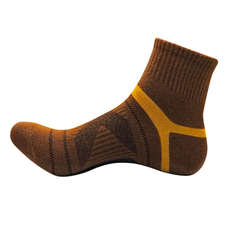 Men Socks Ultra-Comfort Cotton Quick-drying Casual Breathable Instep Mesh Middle Tube Socks 11