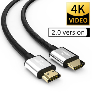 Image 5 - Moshou HDMI compatible 4K 2.0b 2.0 Cables 4K 60Hz HDR ARC Ethernet Video male to male for Monitor TV PS4 NS Projector Amplifier
