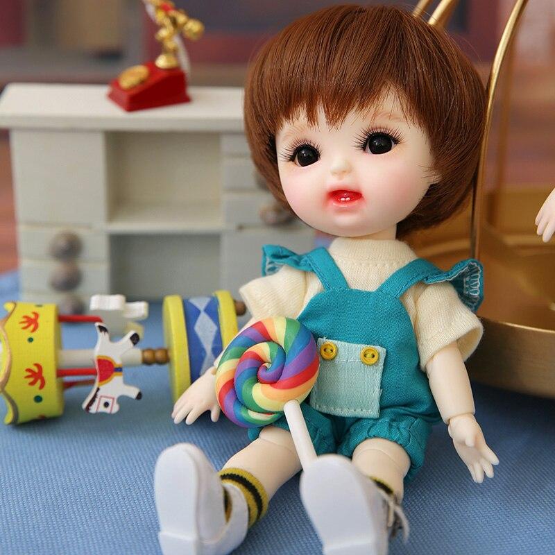 Image 2 - デイジー 1/8 Secretdoll Dollbom BJD SD  人形本体モデルベビーガールズボーイズ高品質おもちゃショップ樹脂フィギュア Irrealdoll -     グループ上の おもちゃ