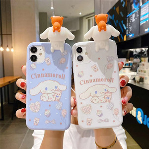 3D Japan cartoon Cinnamoroll Melody Doll soft phone case for iphone 11 Pro Max X XR XS Max 6 S 7 8 plus SE 2020 Cute back cover
