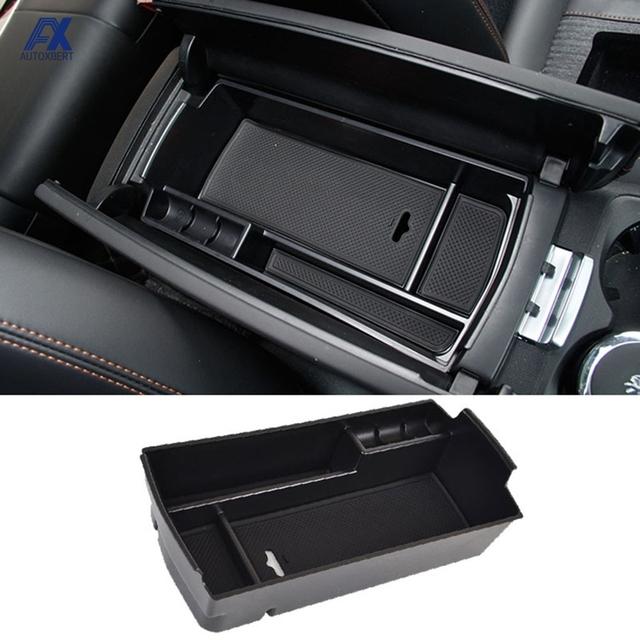 Samochodów schowek w podłokietniku taca pojemnik części samochodowe akcesoria dla PEUGEOT 3008 2017 2018 2019 2020 tanie tanio AUTOXBERT Seat Szczelinowa Schowek Torba ABS Plastic