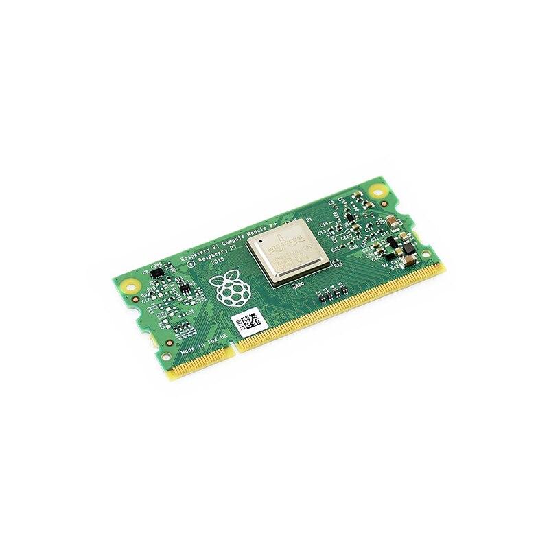 Raspberry Pi Compute Module 3 + Lite/8GB/16GB/32GB 1GB RAM 64-bit 1,2 GHz BCM2837B0 200PIN SODIMM разъем поддерживает окно 10 и т. Д.