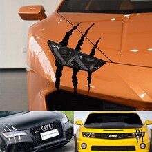 Autocollant de voiture phare mode autocollants de voiture reflechissants Auto autocollant etanche pour Auto voiture  accessoires