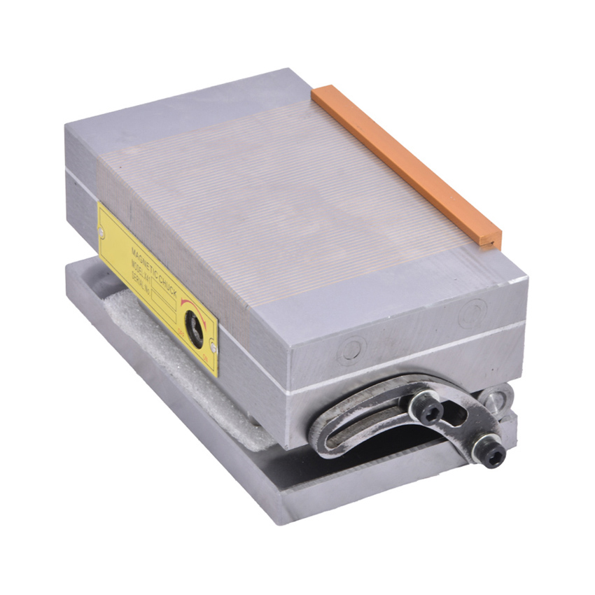 Tools : High-precision Strong Magnetic Force Surface Grinder Permanent Magnetic Chuck Grinding Machine Disk Magnetic Chuck  100 175