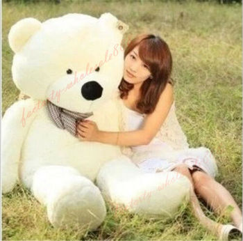 47'' Cotton Giant Huge Teddy Bear Plush Soft Toy Birthday Doll Pillow Gift 120Cm  Stuffed Animals Plush Doll hot new lovely giant american bear plush toy stuffed animals teddy bear doll pillow kids girls popular valentine birthday gift