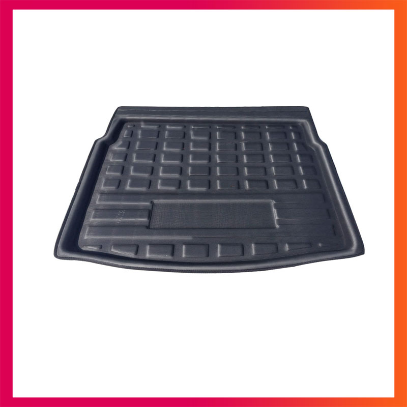 For VW Tiguan 2016-2018 Liner Tray Car Rear Trunk Cargo Mat Floor Sheet Carpet Mud Protective Pad