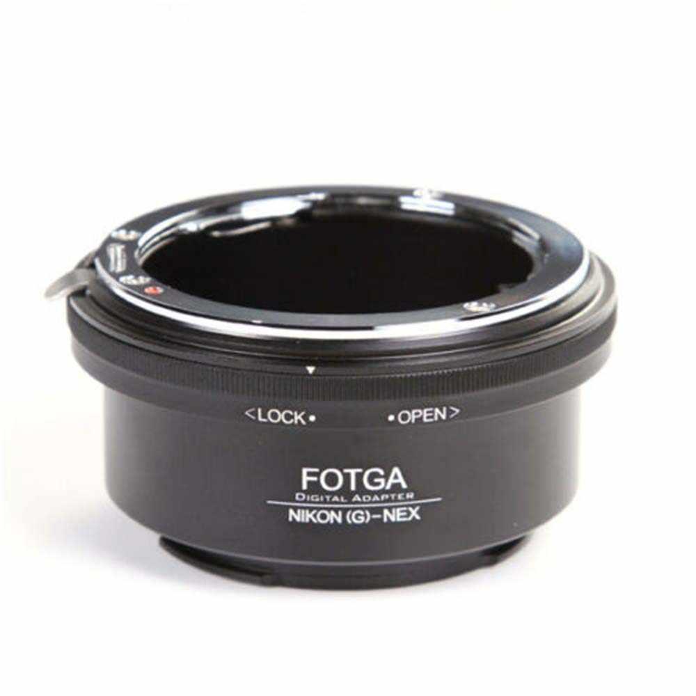 เลนส์อะแดปเตอร์เลนส์ FOTGA สำหรับ Nikon AI AF-S G เลนส์ SONY E-Mount NEX3 NEX-5 5N 5R C3 NEX6 NEX7
