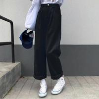 Single black pants