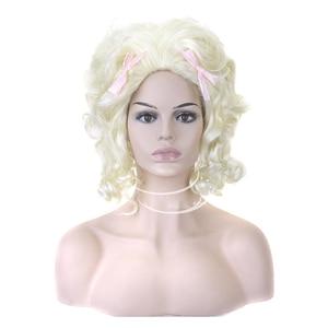 Image 1 - Hairjoy人工毛ブロンドマリー · アントワネット王女のかつらのためのハロウィン衣装
