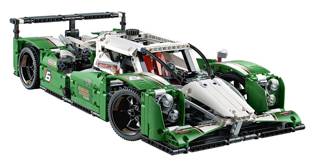 1249pcs Building Blocks Bricks Compatible with <font><b>Legoingly</b></font> Technic Series <font><b>42039</b></font> Model The 24 Hours Race Car 20003 Educational Toys image