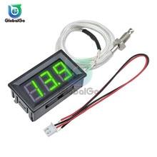 DC 12V Mini Smart LED Digital Thermometer Temperature Meter Thermocouple Tester M6 K-Type Sensor Thermograph -30~800C XH-B310 xh b310 digital thermometer 12v temperature meter k type m6 thermocouple tester d28 dropshipping