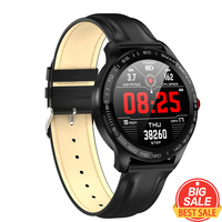L9 Smart Watch watches Men ECG PPG Heart Rate Blood Pressure Fitnesss Tracker IP68 Waterproof Bluetooth Business Smartwatch