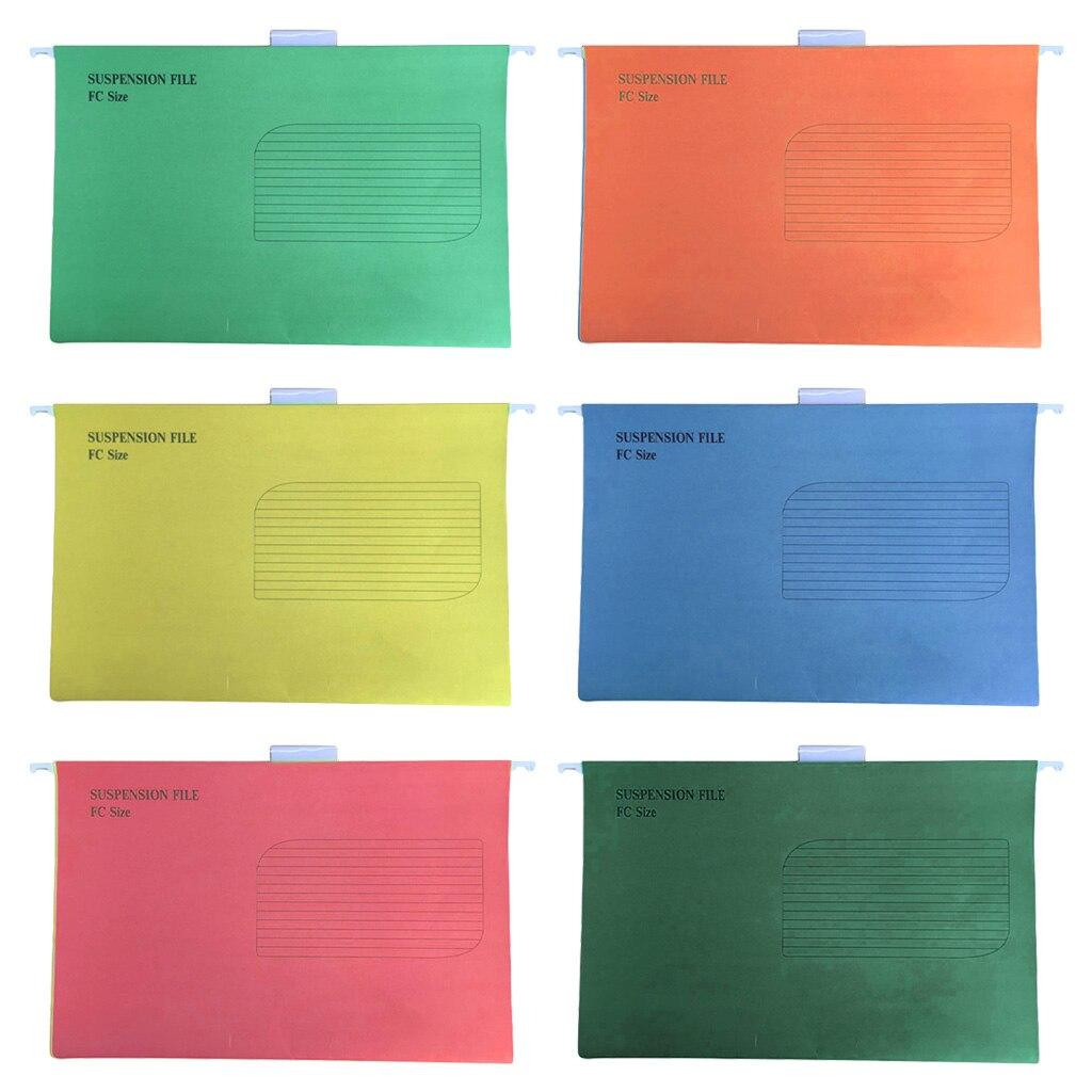 Durable 25 Pcs/Set Portable Suspension File Folder Hanging File Holder Paper Frame Documents Organizer Office Supplies