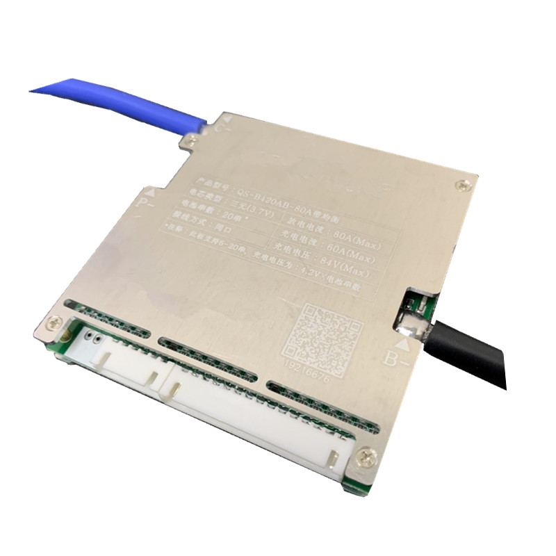6 24S BMS 60V 72V 86V Lipo iron phosphate/Lifep04 50A 80A 120A 150A high current battery protection board Same Port|Battery Accessories| |  - title=
