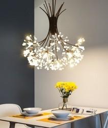 Modern deco maison hanglamp szklane dekoracje do wnętrz do sypialni E27 oprawa oświetleniowa deco chambre lampa wisząca wisząca w Wiszące lampki od Lampy i oświetlenie na