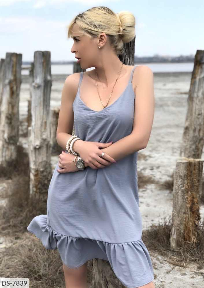 Yunze Zonnejurk 2020 Nieuwe Zomer Vrouwen Fashion Casual Solid V-hals Bretels Ruches Zoom A-lijn Sexy Mini Beach Jurken Vestidos