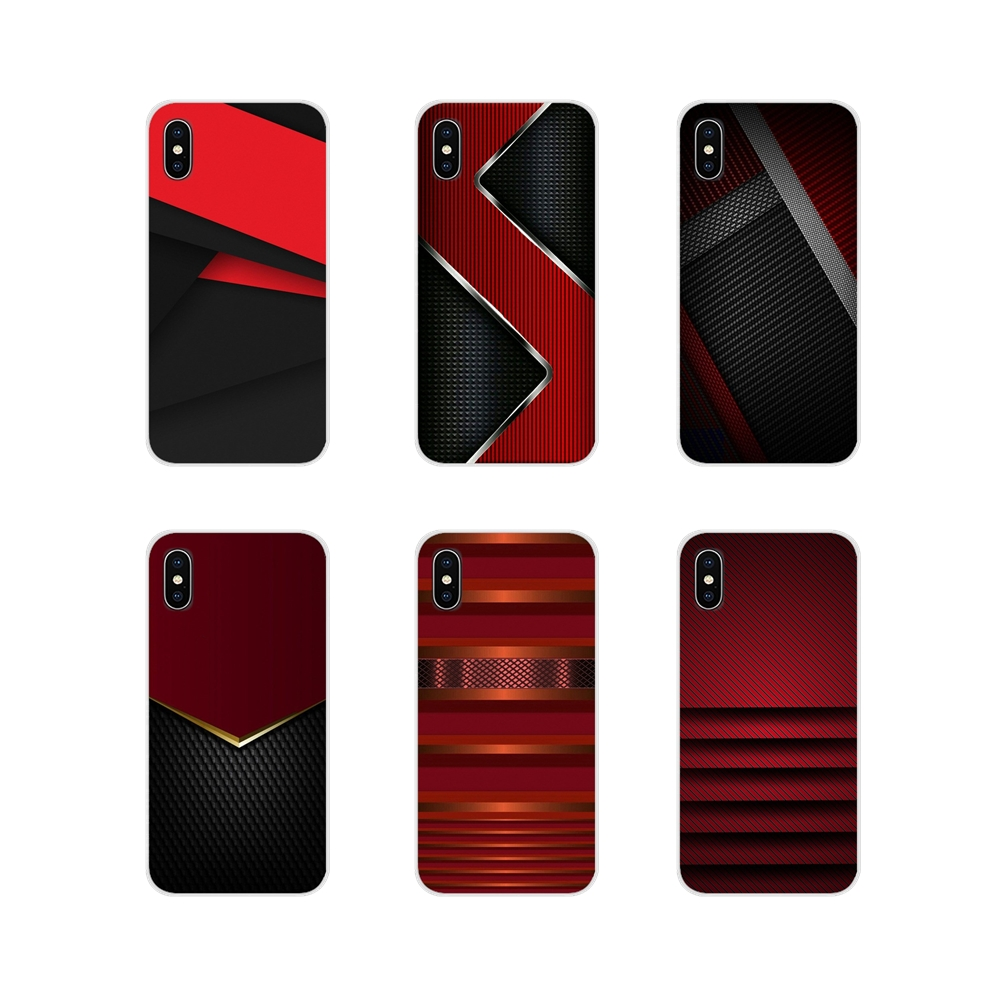 black <font><b>red</b></font> metal texture For <font><b>Samsung</b></font> Galaxy A3 <font><b>A5</b></font> A7 A9 A8 Star A6 Plus 2018 2015 2016 <font><b>2017</b></font> Accessories Phone Shell Covers image