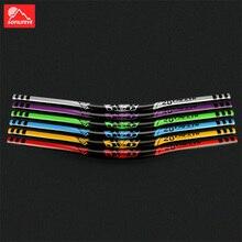 цены Aluminum Alloy MTB Bicycle Handlebar 720mm 780mm 31.8mm DH Downhill Racing Bike Handle Bar Mountain Road Bike HandleBar BMX