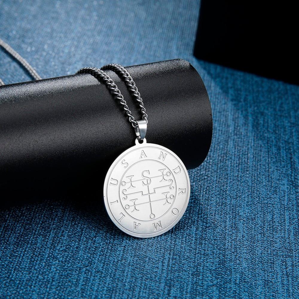 Dawapara-Mighty-Earl-Andromalius-Lesser-Key-of-Solomon-Seal-Kabbalah-Amulet-Pendant-Men-Necklace (4)