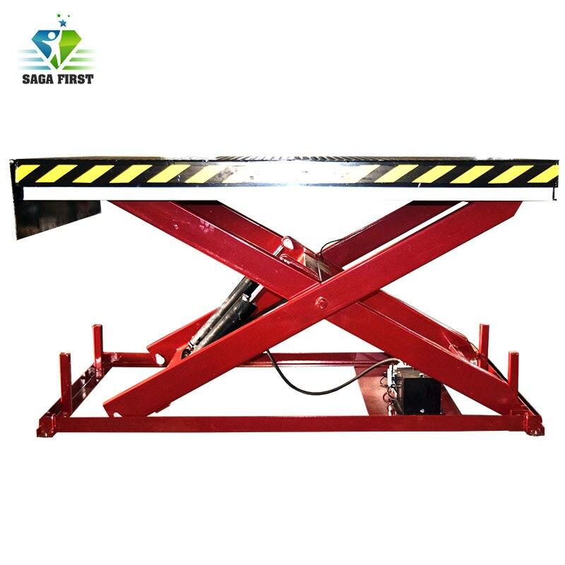Hydraulic Heavy Duty Stationary Scissor Lift Table For Cargo Lifting