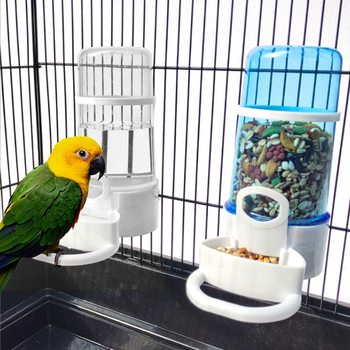 Bird Water Drinker Feeder Waterer with Clip Pet Bird Supplies Dispenser Bottle Drinking Cup Bowls For Pet Parrot Cage bird feeder automatic parrot bathtub swimming pool faucet parrot bath shower water dispenser bird cage bathroom pet parrot toys