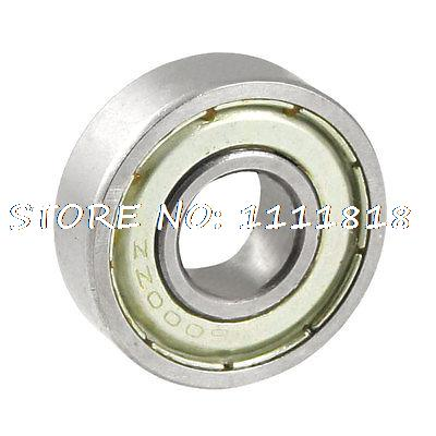 6000ZZ 26mm X 9mm X 8mm Double Sealed Ball Roller Bearings