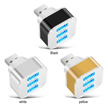 USB2.0 HUB Hub 3 Ports USB Splitter Quick Charge Mobile Phone Tablet Keyboard Mice Chargers Wall Adapter with LED Indicator