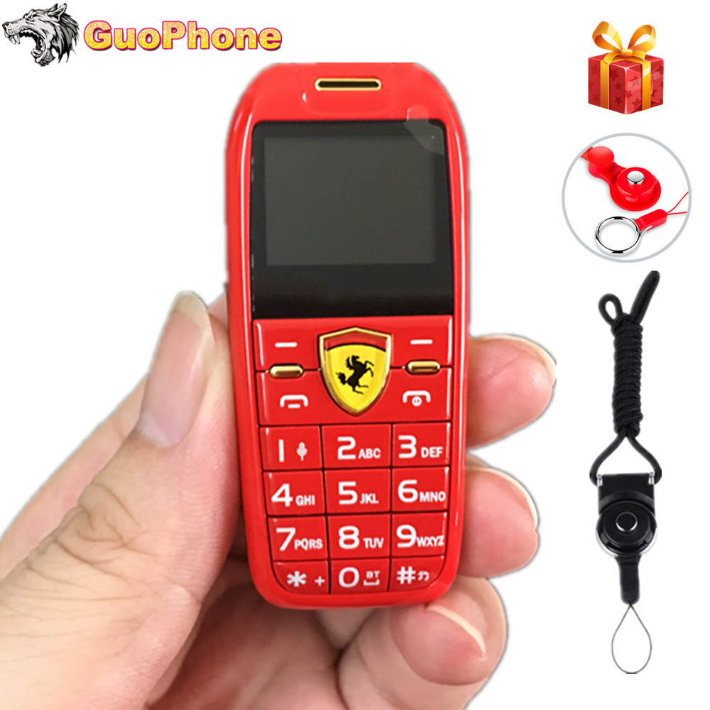 Mini Car Key Push Button Mobile Phone 1.0