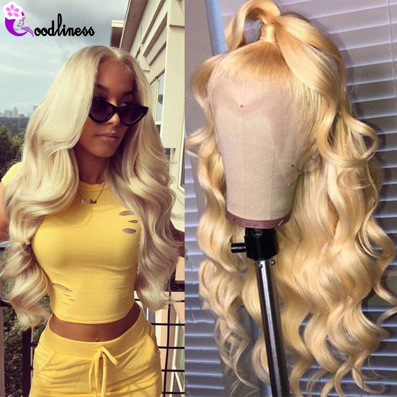 Transparent 613 Honey Blonde Lace Front Wig Human Hair Wigs For Black Women Brazilian Body Wave Lace Frontal Wig Preplucked Remy image