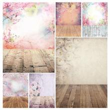 Fond photographique fleurs colorées Bokeh vinyle Studio toile de Fond Photobooth pour enfants bébé amoureux Photocall Fond Photo