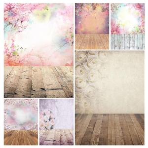 Image 1 - Photographic Background Colorful Flowers Bokeh Vinyl Studio Backdrop Photobooth for Children Baby Lovers Photocall Fond Photo