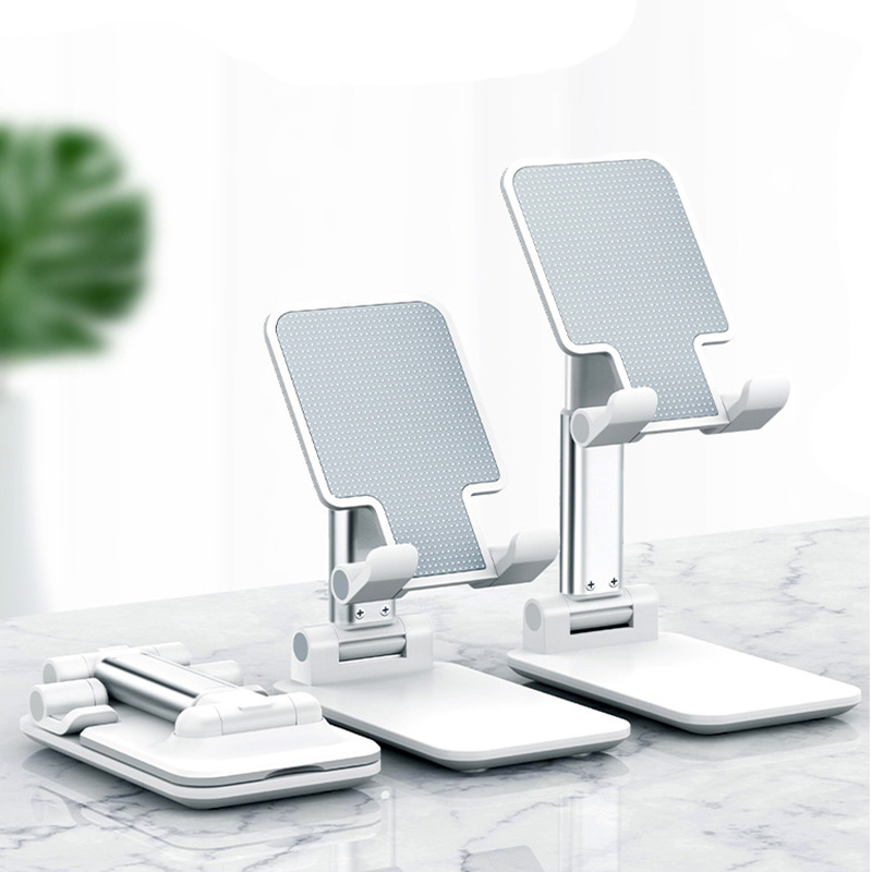 2020 Desk Mobile Phone Holder Stand For IPhone IPad Adjustable Alloy Desktop Tablet Holder Universal Table Cell Foldable Support