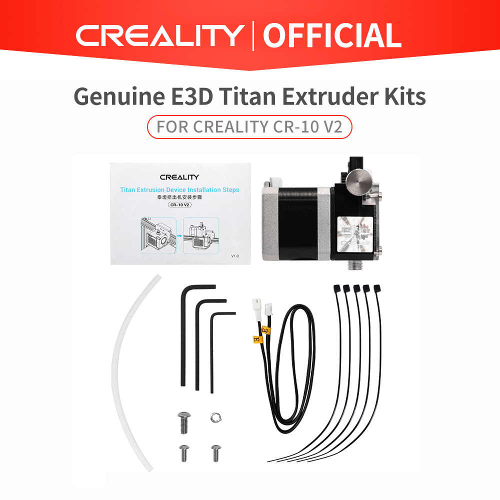 Genuine E3D Titan Extruder Kits 1 75mm For Creality CR-10 V2