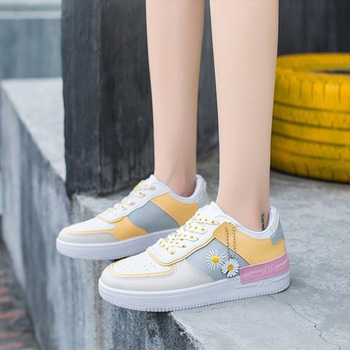 Summer woman sneakers fashion breathable pu leather casual shoes white platform women shoes soft footwears zapatos mujer shoes woman 2020 pu leather breathable sneakers women shoes waterproof wedges platform shoesladies casual shoes women sneakers
