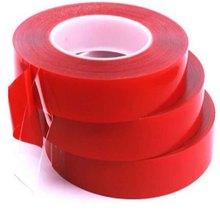 3m*10 20 25mm Red Transparent Silicone Double Sided Tape Sticker High Strength Nano No Traces Decor for Car Protection