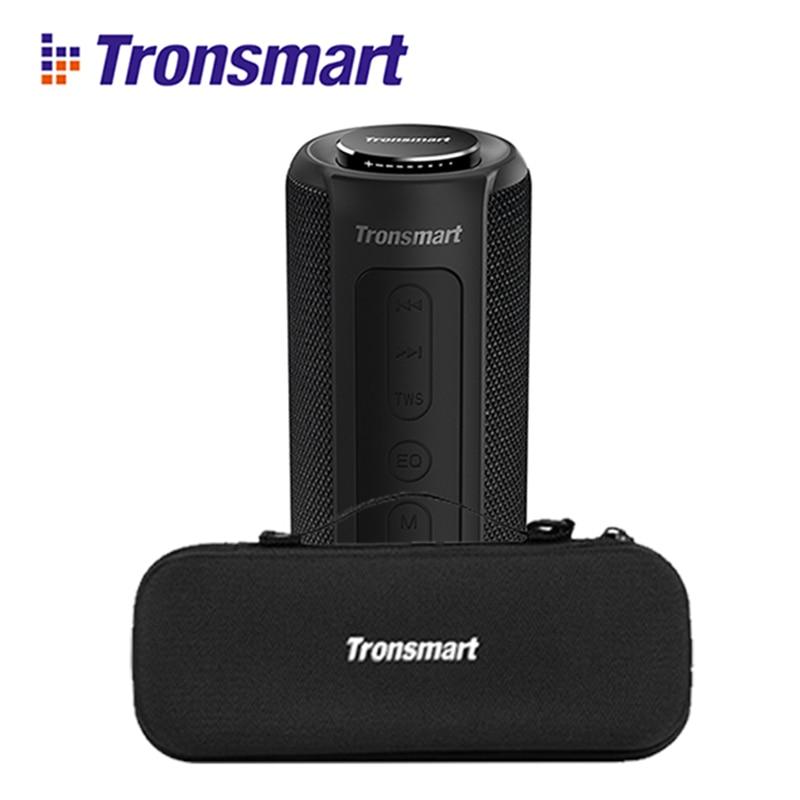 Original nouveau Tronsmart Element T6 Plus 40W TWS SD TF Portable haut-parleur Bluetooth IPX6 étanche extérieur portable mini haut-parleur T6