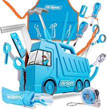 Hi-Spec My First Tool Set Real Children Kids Small Size DIY Hand Toy Gift Tools for Boys Girls