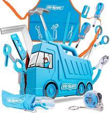 Hi Spec mój pierwszy zestaw narzędzi prawdziwe dzieci narzędzie dla dzieci zestaw małych rozmiarów narzędzia ręczne diy zestaw zabawek prezent dla dzieci chłopców dziewcząt
