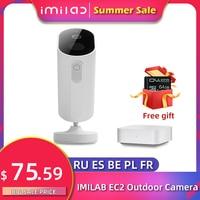 IMILAB EC2 Wire-Free Camera Mihome Smart Wifi Camera 1080P Ip Camera Outdoor Security Camera Night Vision Surveillance Cameras