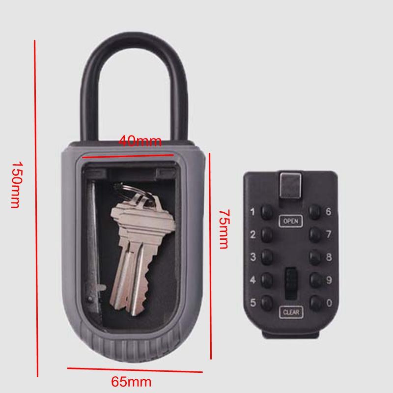 Password keybox lock 8