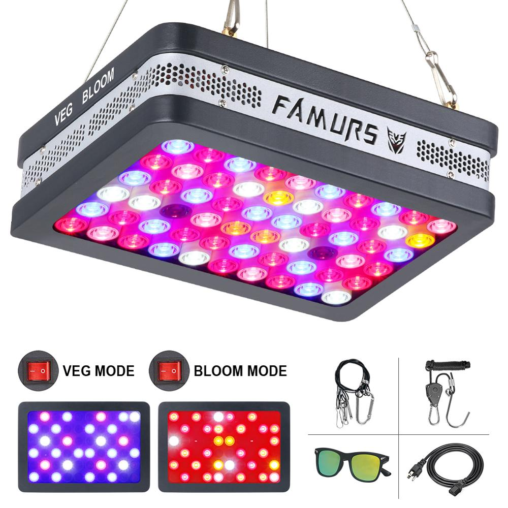 Famurs cob Led grow light full spectrum 800W/1500W/2000W/3000W Grow Lamp with Veg and Bloom Switches for Indoor Plants(China)