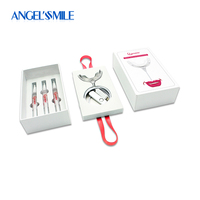 Angel Smile Teeth Whitening Kit With 16 LED Lights Carbamide Peroxide Teeth Whitening Gel Dental Bleaching Professional System