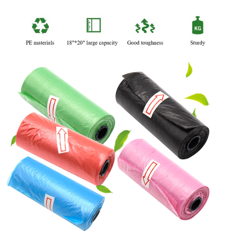 Rubbish Bag Disposable Bag Black Plastic Lawn Bathroom Car Office Commercial Needs Kitchen House Plastic Garbage Bags
