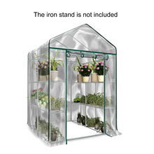 Greenhouse Outdoor Growbag Growhouse PVC Cover Plastic Garden Green House Fiver Floors Green Household Plant Greenhouse Cover
