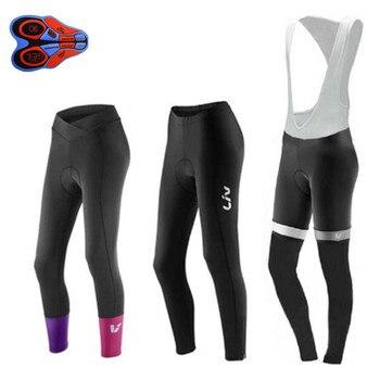 Pantalones de Ciclismo de verano y otoño para mujer en negro/rojo, 9d,...