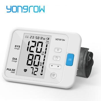 yongrow Portable Digital Upper Arm Blood Pressure Monitor measurement tool Portable LCD digital 1 Pcs Tonometer sphygmomanometer 1
