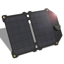 FFYY-ALL мощность S 14 Вт солнечное зарядное устройство 5 в 2,4 А двойной Usb Солнечная Панель зарядное устройство складной внешний аккумулятор для смартфонов