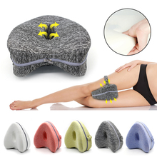 Orthopedic Pillow For Sleeping Memory Foam Leg Positioner Pillows Knee Support Cushion Between The Legs Hip Pain Sciatica